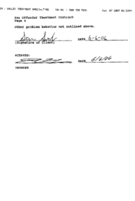 Valley Treatment Specialties Treatment Contract, page 4