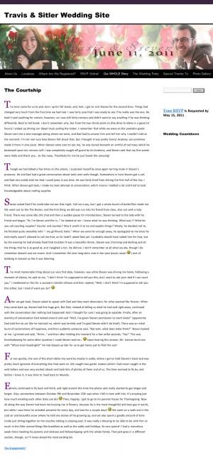 """Steven Sitler: """"The Courtship"""" — Katie's Version"""