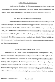 Steven Sitler Defense Memorandum, page 10