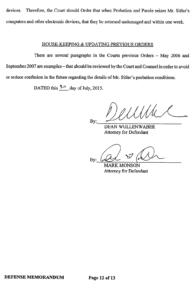 Steven Sitler Defense Memorandum, page 12