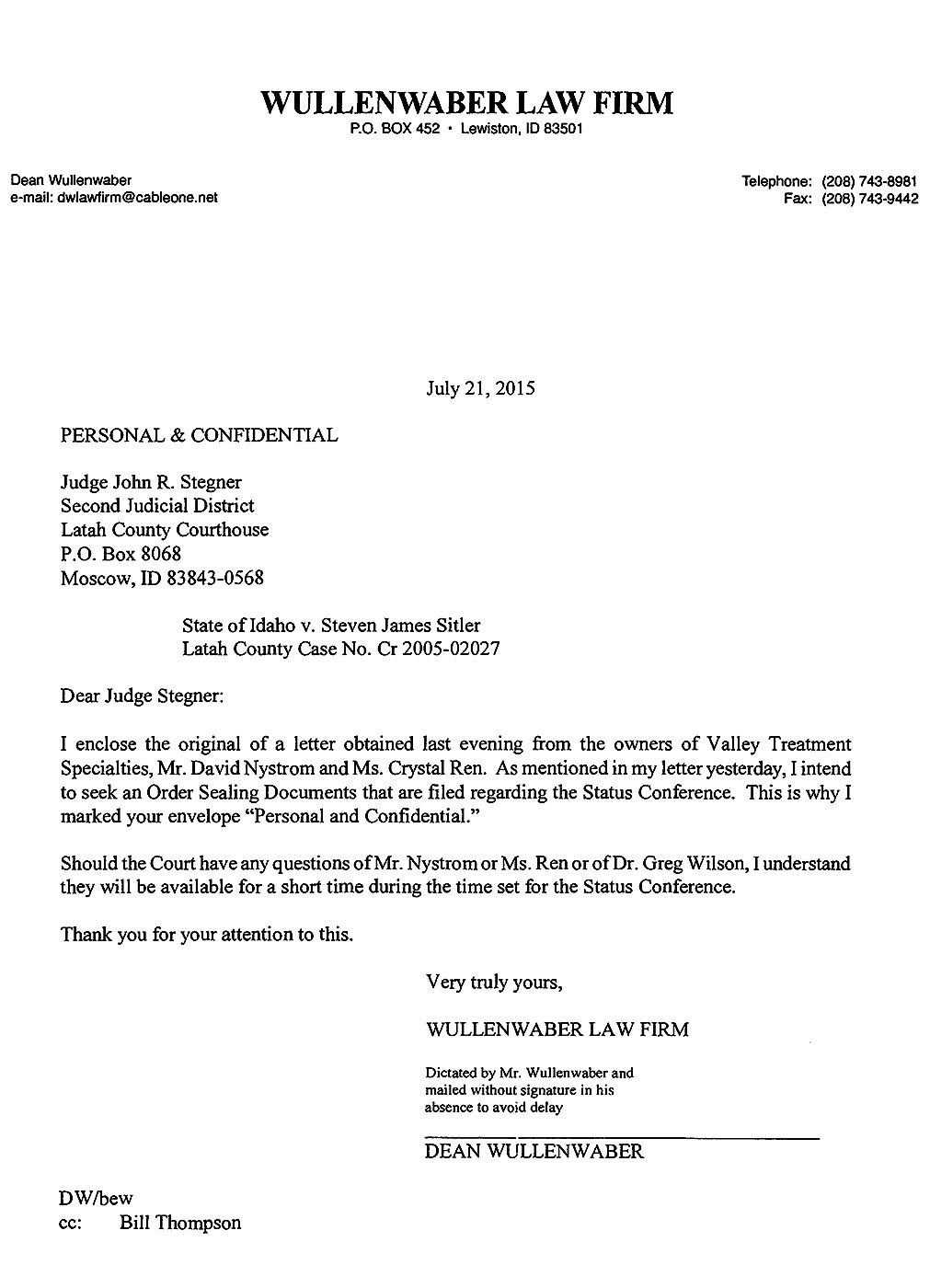Wullenwaber Law Firm