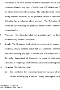 Consolidation of Terms and Conditions of Probation page 5