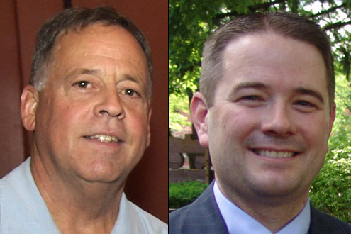 Team Sitler: Attorneys Dean Wullenwaber & Mark Monson